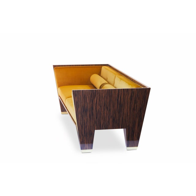 Customizable Wedge Sofa For Sale - Image 9 of 9