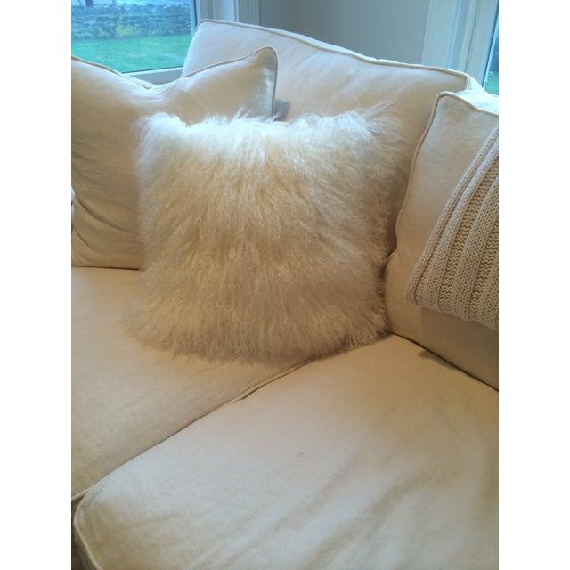 Mongolian Natural White Pillow - Image 3 of 3