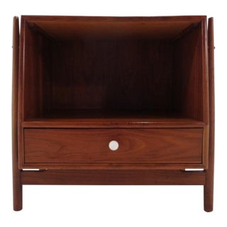 Kipp Stewart & Stewart MacDougall Drexel Declaration Atomic Nightstand For Sale