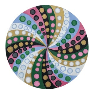 Final Markdown/Contemporary Spiral Painting by Natasha Mistry For Sale