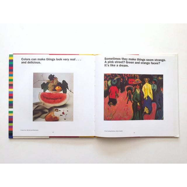 """1990s """" Colors, Shapes, Lines """" Rare Vintage 1991 1st Edition Museum of Modern Art Children's Art Books - Set of 3 For Sale - Image 5 of 12"""