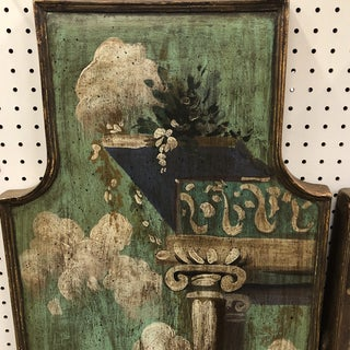 Vintage Mid Century Hand Painted Classical Ruins Panels- A Pair Preview