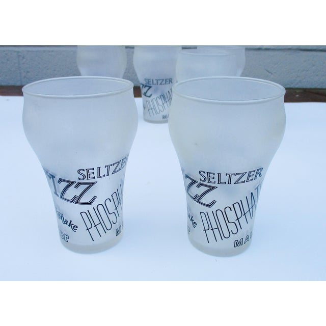 Retro Cocktail Soda Seltzer Glasses - Set of 6 - Image 7 of 11
