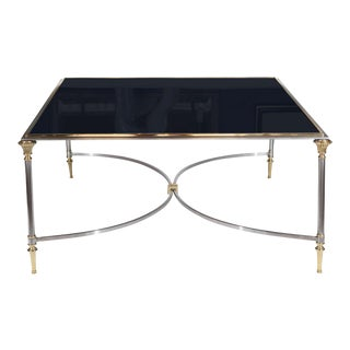 Hollywood Regency Coffee Table in the Manner of Maison Jansen For Sale