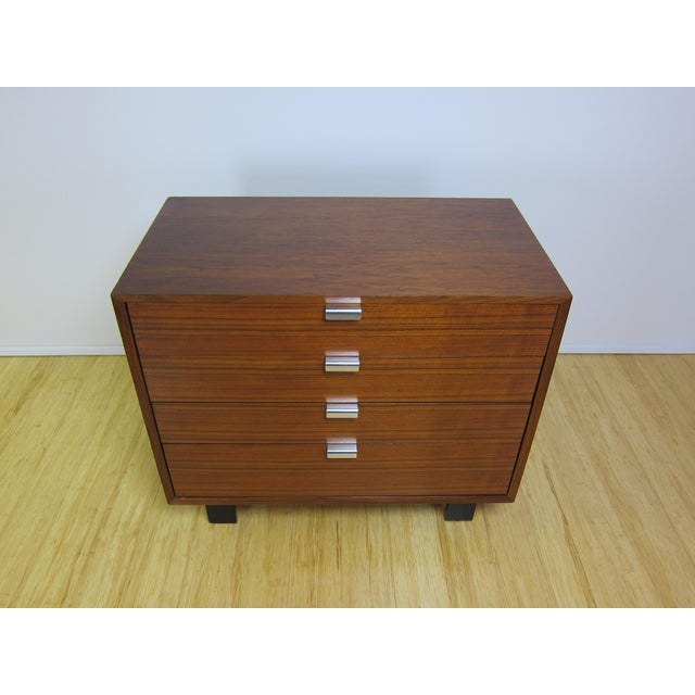 Mid-Century Modern 1950s George Nelson for Herman Miller Walnut Dresser For Sale - Image 3 of 13