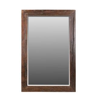 Sleeper Wood Mirror Frame Wall Mirror For Sale