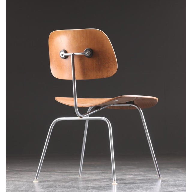 Mid-Century Modern DCM Dining Chair by Charles & Ray Eames for Herman Miller, 1955 For Sale - Image 3 of 9