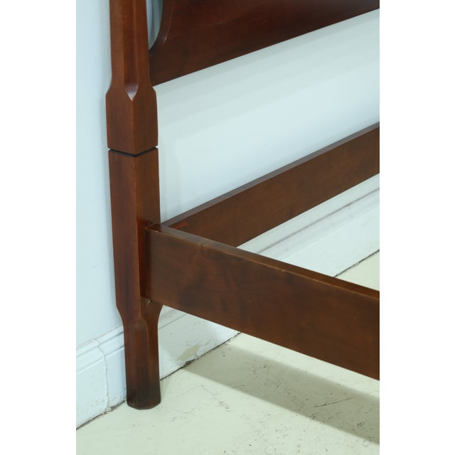 Statton Old Towne Cherry Full Size Poster Bed For Sale In Philadelphia - Image 6 of 9