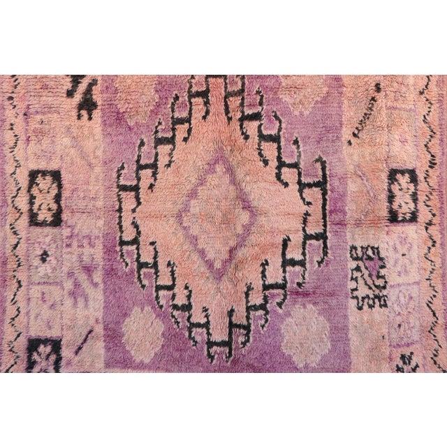 "Boujad Vintage Moroccan Rug - 5'8"" x 13'1"" - Image 2 of 4"