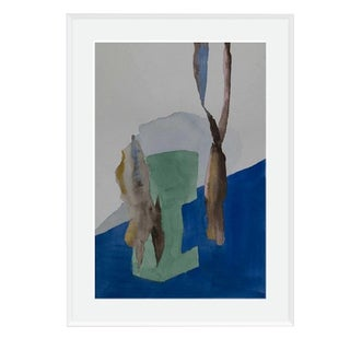 'Kruste' Framed and Matted Print on Rag Paper by Encarnacion Portal Rubio For Sale