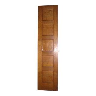 Tiger Oak Five Panel Door