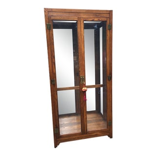 1980s Asian Howard Miller Display Cabinet For Sale
