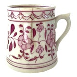 Image of Early 18th-Century Meissen Purple Indian Coffee Can For Sale
