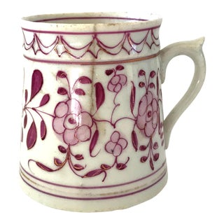 Early 18th-Century Meissen Purple Indian Coffee Can For Sale