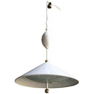 Lightolier Mid-Century Modern Hanging Lamp For Sale