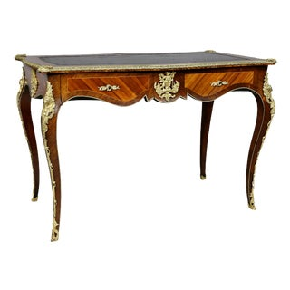 Louis XV Style Tulipwood Writing Table For Sale
