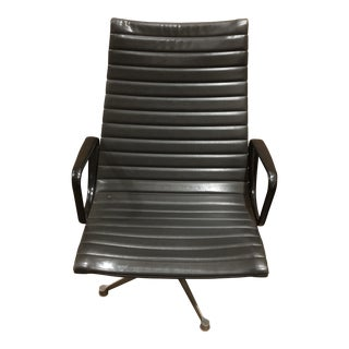 Eames Miller Black and Chrome Management Chair