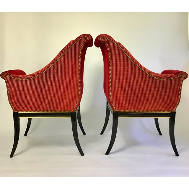 1990s Karges Parler Deux Chairs - A Pair For Sale - Image 5 of 12