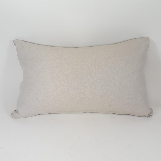 Contemporary Hedgehog Accent Linen Decorative Pillow For Sale In Dallas - Image 6 of 7