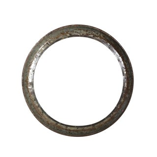 Industrial Round Mirror For Sale