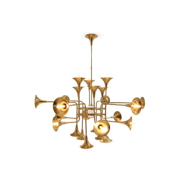 Gold Botti 150 Chandelier From Covet Paris For Sale - Image 8 of 13