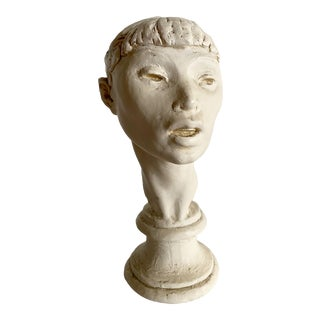 Ballerina Head Woman Bust Fred Press For Sale
