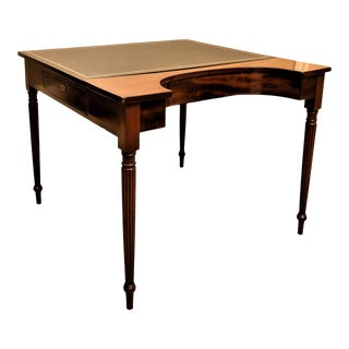 Federal Library Table, Circa:1815, Philadelphia For Sale