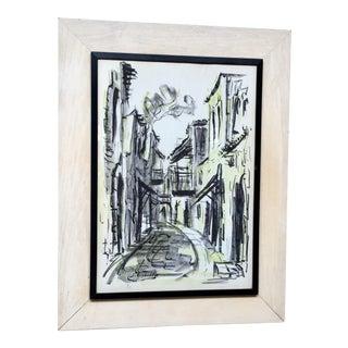 1964 Zvi Raphaeli Limited Edition Lithograph For Sale