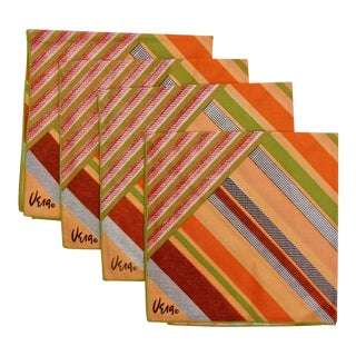 Vera Neumann Napkins, Set of 4 For Sale