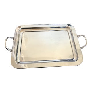 Silver Tray For Sale