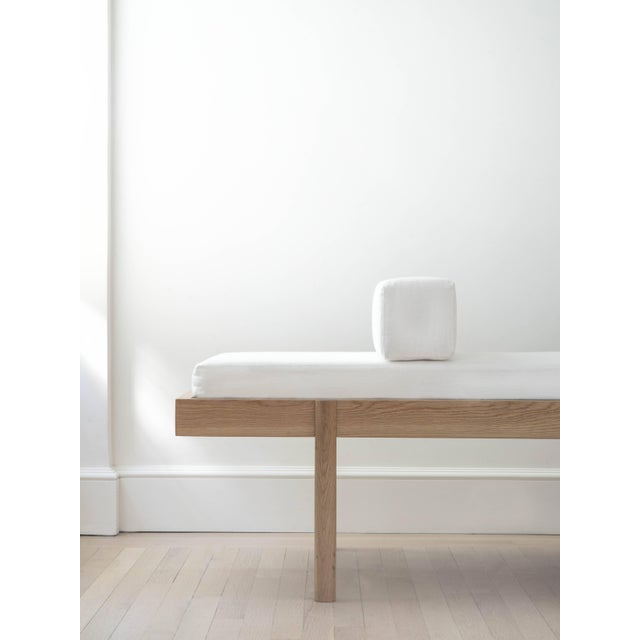 Wc2 Daybed by Ash Nyc in White Oak For Sale - Image 9 of 10