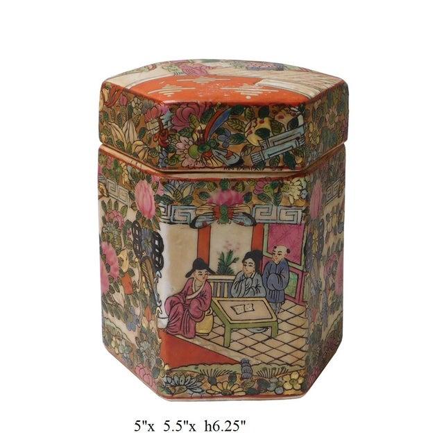 Chinese Decorative Porcelain Box - Image 6 of 6