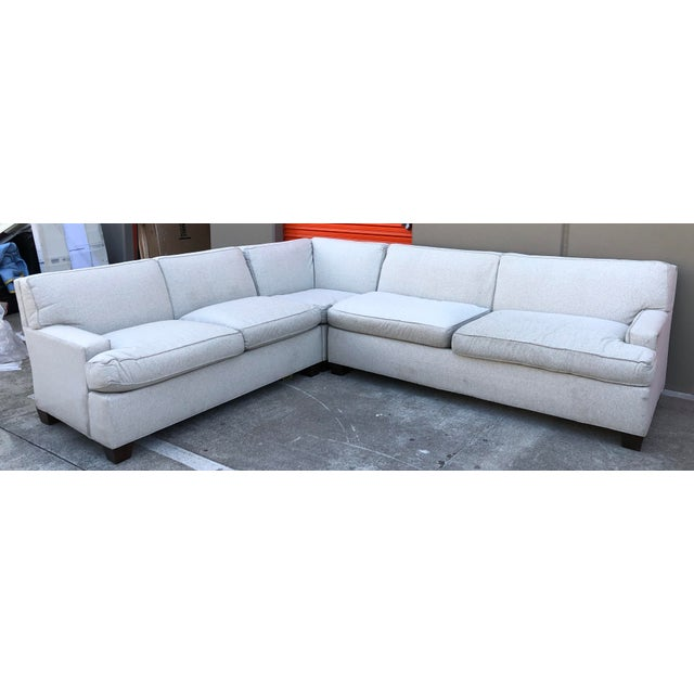 Mariette Himes Gomez Foster Contemporary Sectional Couch For Sale - Image 9 of 9