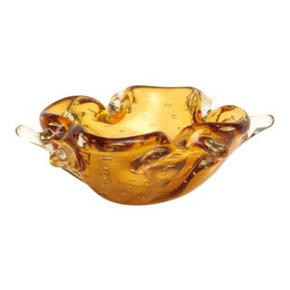Gorgeous Freeform Murano Dish or Bowl, 1960s, Italy For Sale