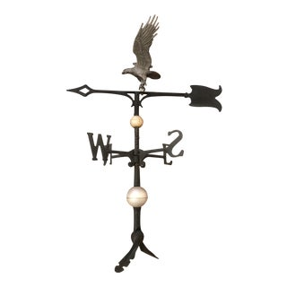 Black Metal Eagle Weathervane