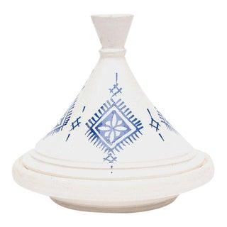 Small Moroccan Ceramic Serving Tajine For Sale
