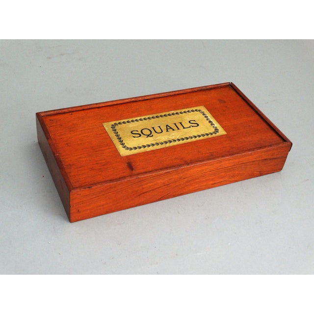 Red 19th-Century English Squails Game, Rare For Sale - Image 8 of 10