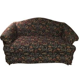 Tapestry-Style Upholstered Loveseat