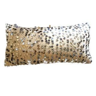 Handira Moroccan Full Sequin Wedding Blanket Pillow Cover For Sale