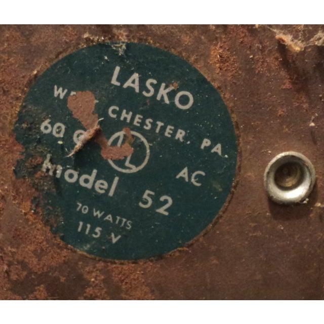 Vintage Lasko Model #52 Moveable Fan - Image 9 of 9