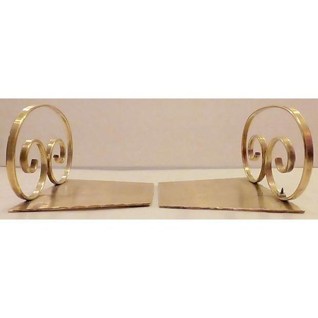 Solid Brass Bookends - A Pair - Image 3 of 6