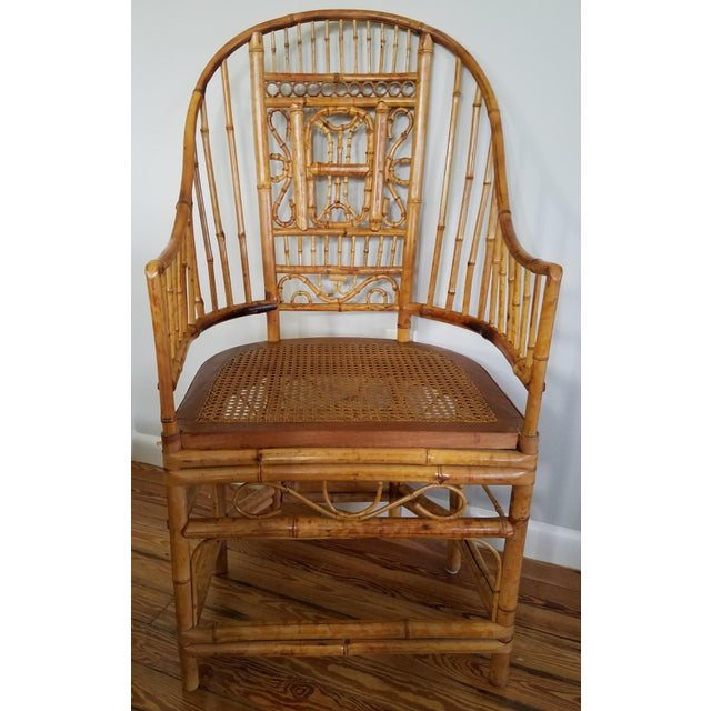 Thomasville Bamboo Chinoiserie Armchair For Sale In Miami - Image 6 of 6