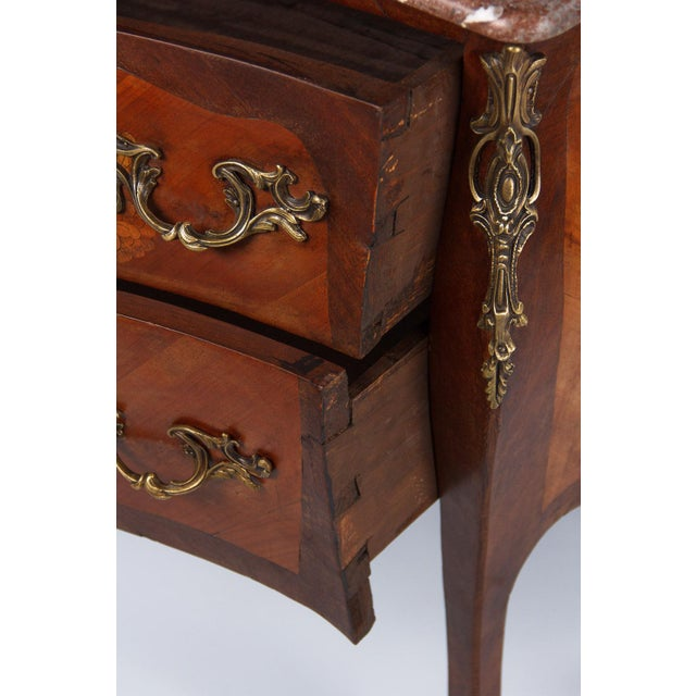 French Louis XV Style Two-Drawer Commode - Image 6 of 10