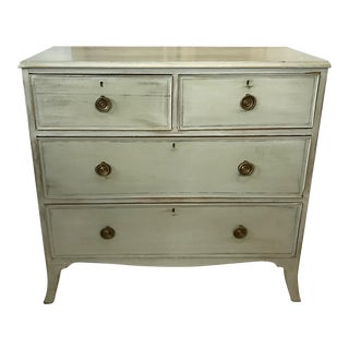 Antique Hand-Painted English Chest