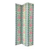 Image of Scalamandre Peony Reversible Folding Screen For Sale