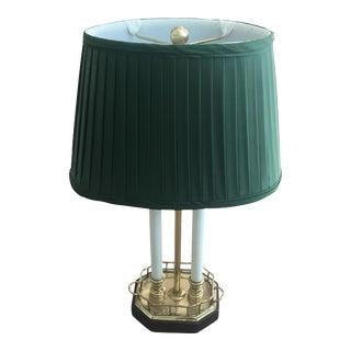 Brass Bouillotte Lamp