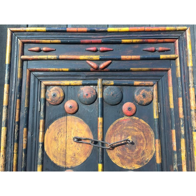 Antique Punjab Dowry Cupboard-Cabinet - Image 7 of 11