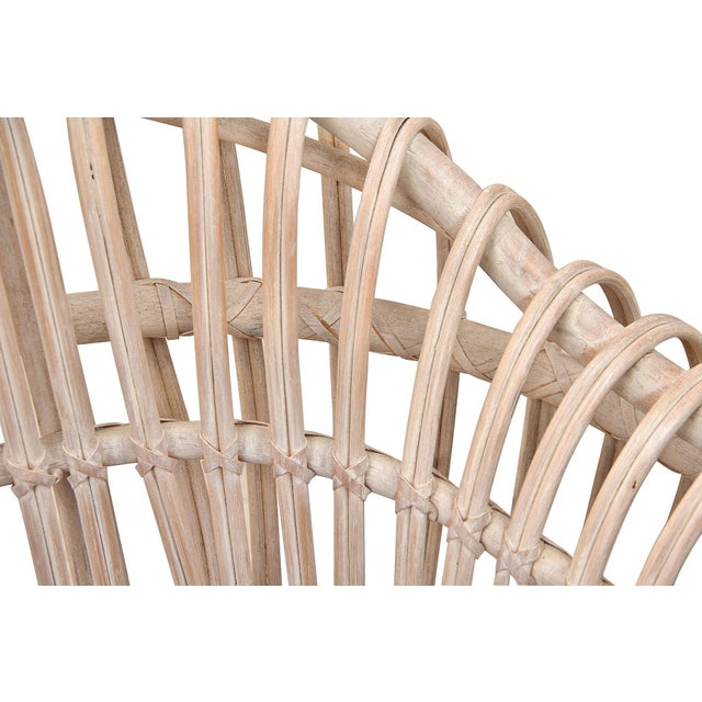 1960s Vintage Boho Chic Bamboo Sofa For Sale In Tampa - Image 6 of 8