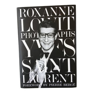 Yves St Laurent Photographs Book, Foreword by Pierre Berge For Sale