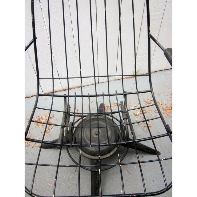 MCM Homecrest Eames Era Bertoia Style Wire Chair - Image 5 of 5